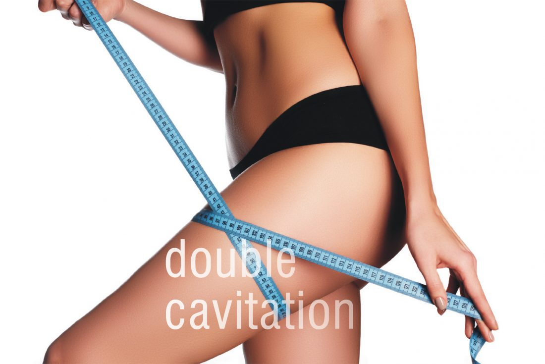 Double Cavitation  treatment for treating skin looseness